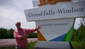 Gordon Pinsent on Grand Falls-Windsor, Newfoundland