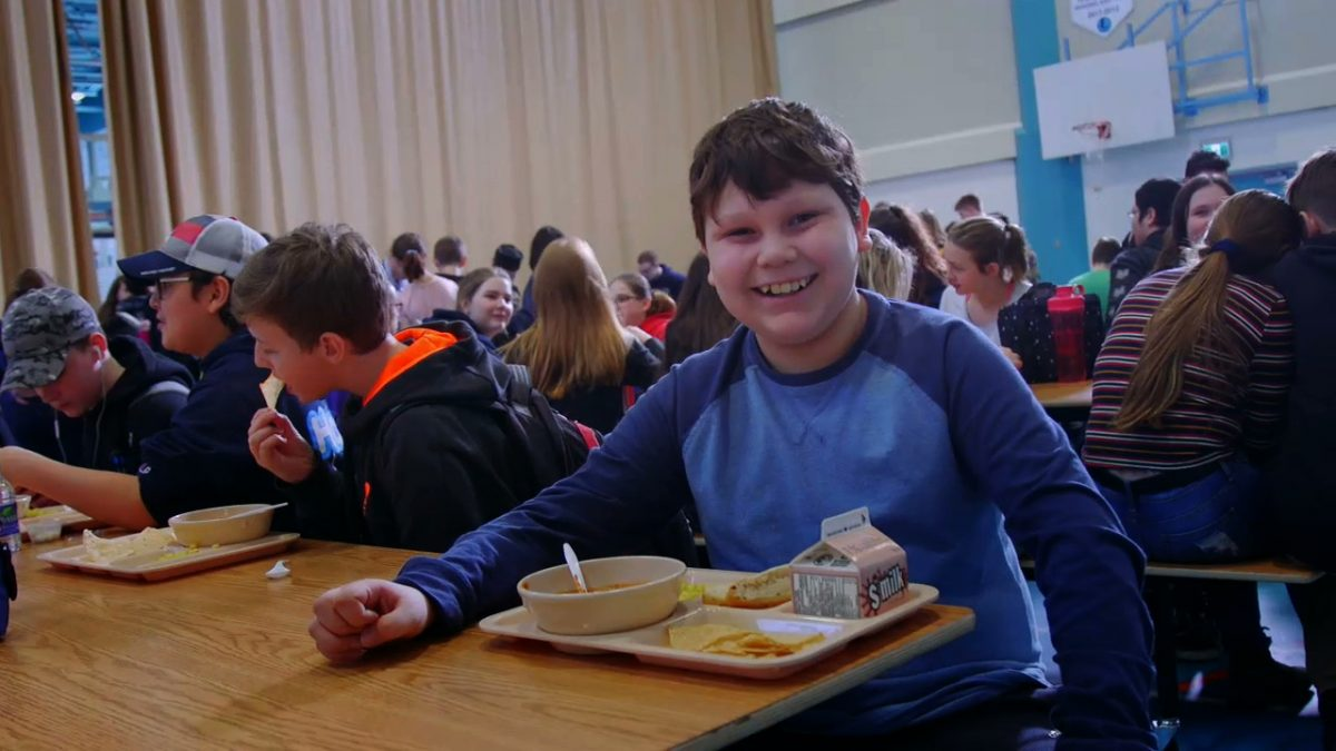 School Lunch Association Grand Opening in Clarenville, Newfoundland