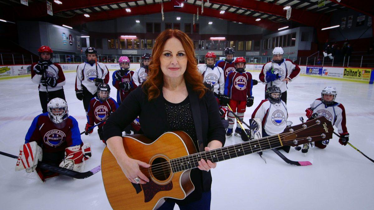 Jackie Sullivan – Fiery Hockey Blood featuring Chris Andrews
