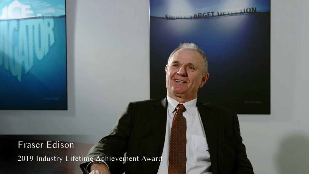 Turning The Tide   Industry Lifetime Achievement Award 2019   Mr. Fraser Edison