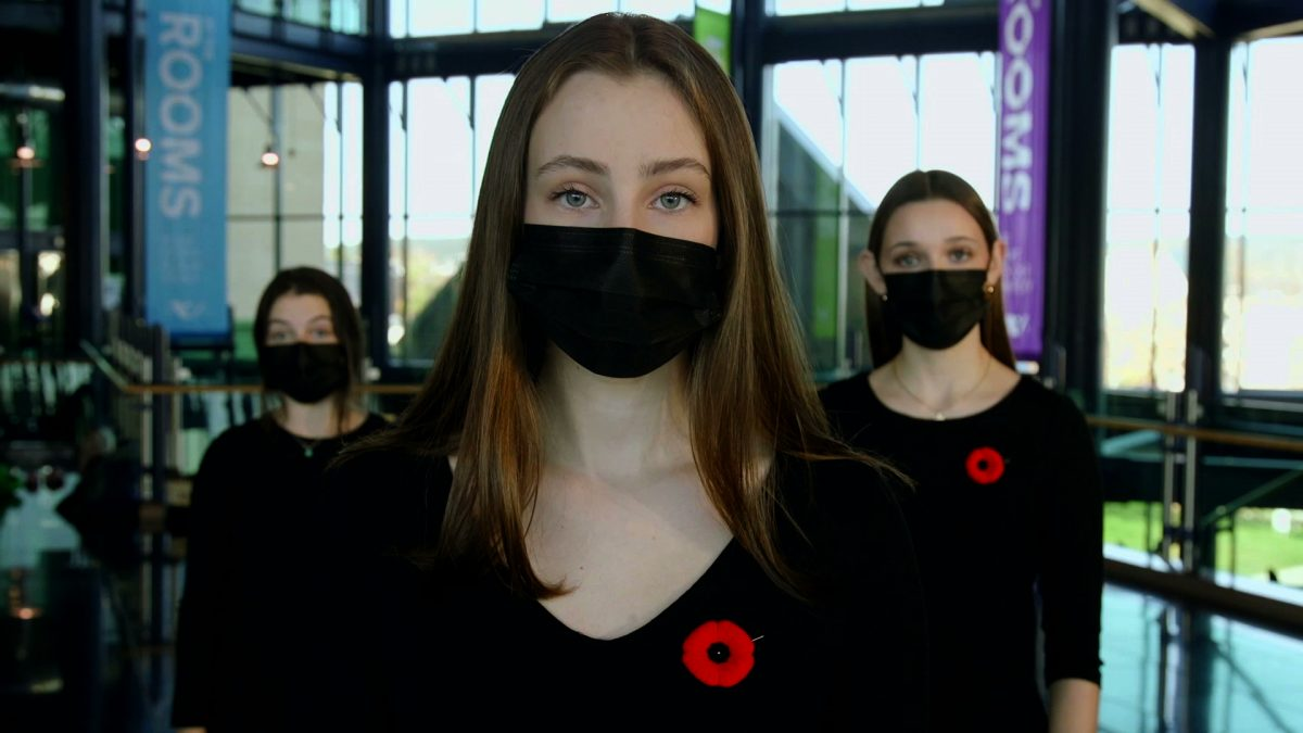 In Flanders Fields: Music by Lydia Adams, Performed by Shallaway